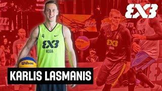 Karlis Lasmanis - Latvia's #3 3x3 Baller - Mixtape Monday - FIBA 3x3