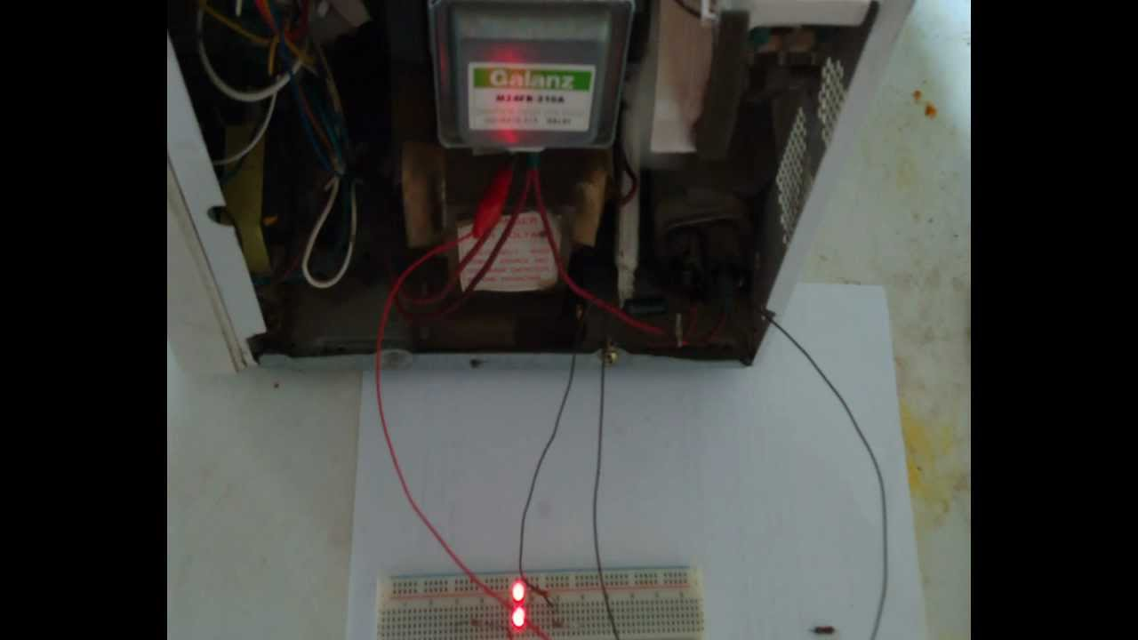 Microwave Testing Oven Magnetron Diode Capacitor You
