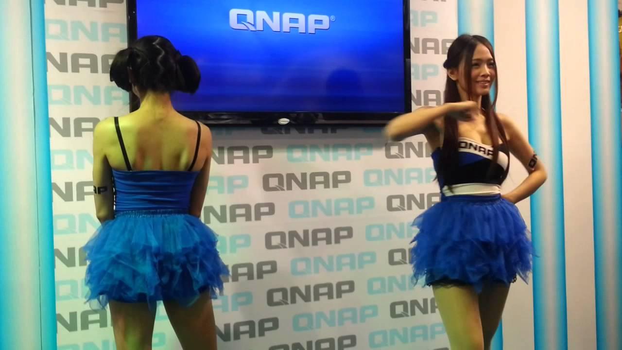 2014臺北資訊展 QNAP SG (小妍,Yuce) - YouTube