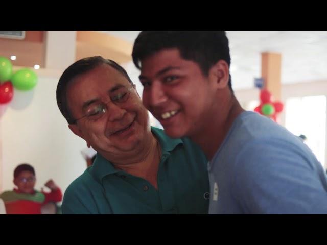 Fiesta Navideña 2018 con nuestro ahijados de Fundación JUCONI