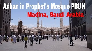 Madina Visit | Azan and Prayer in Masjid-e-Nabvi SAWW, Madina, Saudi Arabia | Travel Vlogs