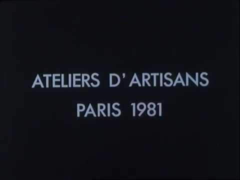 Paris secret   Dans les ateliers des artisans