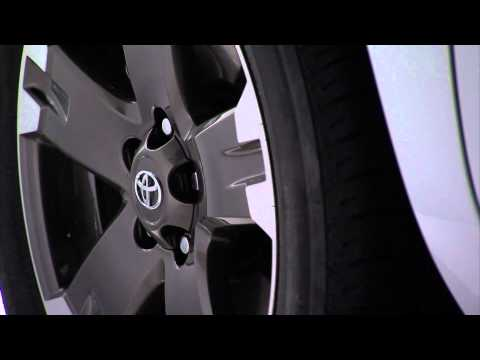 2012 Toyota RAV4 EV static and driving footage