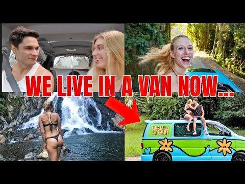 WE TRY LIVING IN A VAN FOR 2 WEEKS...