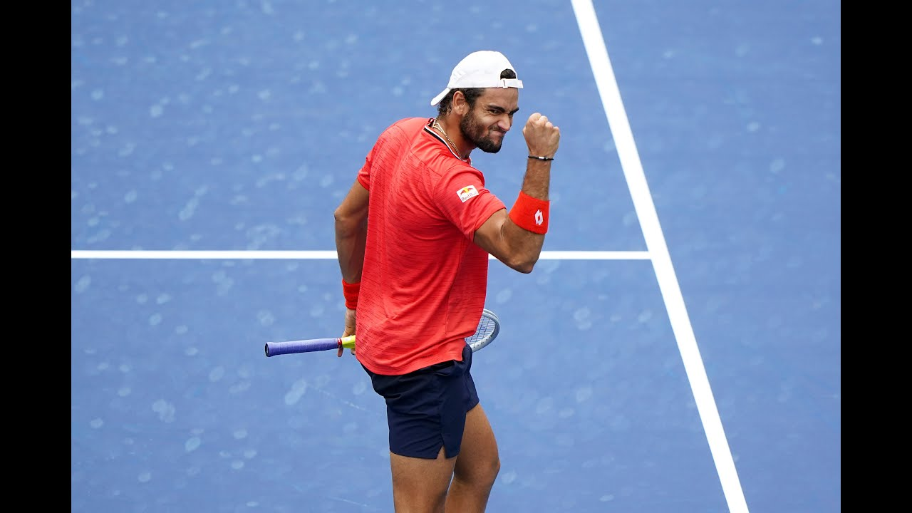 Matteo Berrettini | Top 10 points of US Open 2020
