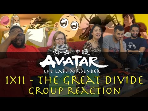 Avatar: The Last Airbender - 1x11 The Great Divide - Group Reaction