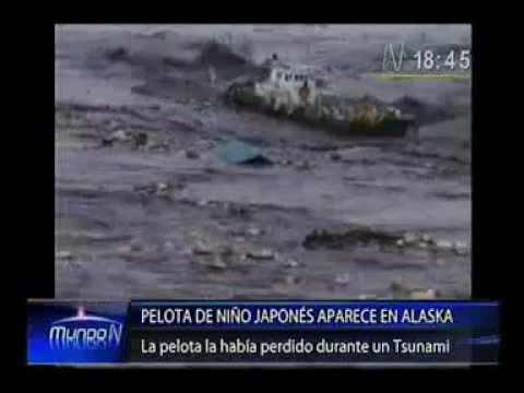 En Alaska Hallan Balon Perdido Del Tsunami De Japon