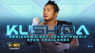 Kushida vs Trey Baxter (NXT Cruiserweight Championship Full Match Part 1/2)