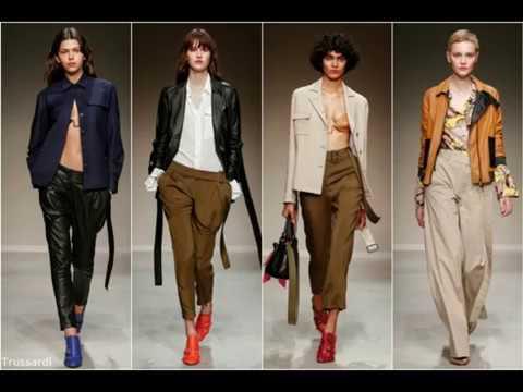 Модные женские классические брюки, штаны, джинсы весна-лето 2018 .