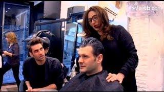 Nuria, la madre de Jon Kortajarena, su peluquera personal