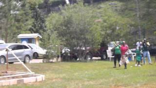Dontae Francis 200M race at Mount st joseph mandeville Jamaica 26.3.2013