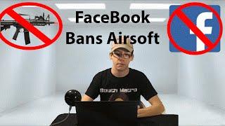 Facebook Bans Gun Sales! | Airsoft News Weekly