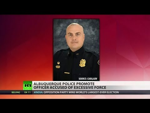 Albuquerque police promote cop who burned off homeless man's ear