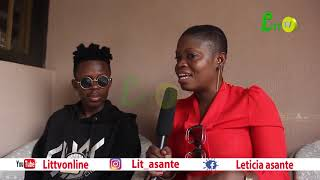 Strongman--Sarkodie and i were having challenges that is why we parted ways