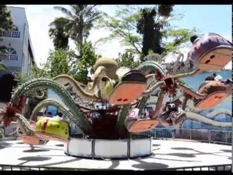 BU kids at Wonder World Amusement Park