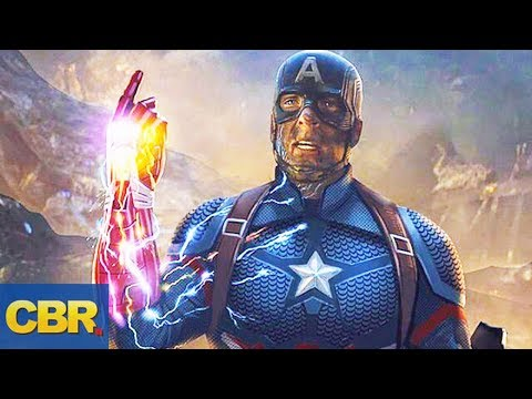 Captain America Was Supposed To Wield The Infinity Gauntlet