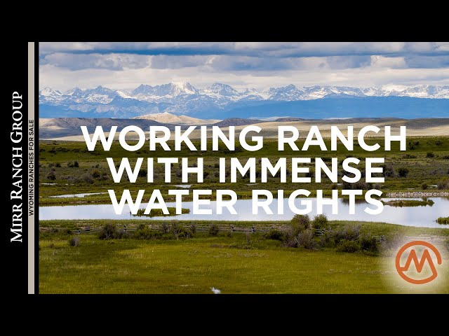 Wyoming Ranches for Sale - The Cottonwood (40 Miles of Rivers & Creeks!)