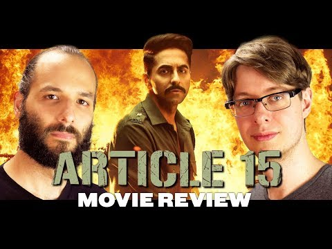 Article 15 (2019) - Movie Review