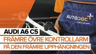 Montering Tändstift AUDI A6 Avant (4B5, C5): gratis video