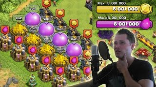 16 MIO WEG! || CLASH OF CLANS || Let's Play CoC [Deutsch/German HD+]