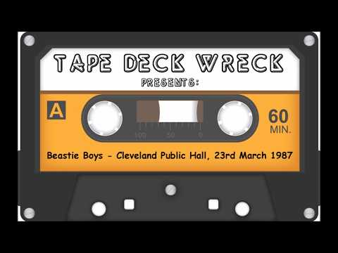 Beastie Boys - Cleveland Public Hall, 23rd March 1987