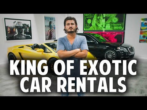 Advice From The KING Of Exotic Car Rentals