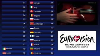 Eurovision 2014 TOP 26 - Grand Final