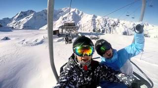 SKIING & SNOWBOARDING ST.ANTON AM ARLBERG 2015 PART 2