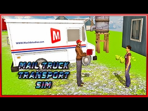 Transport Truck Mail Delivery