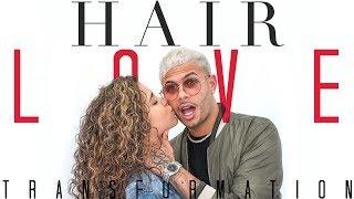 Download lagu 😱 Must watch ✂️  HAIR LOVE COUPLE TRANSFORMATION 💈