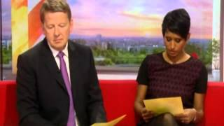 Bill Turnbull Accidentally Says swears C-word Live on BBC Breakfast During Discussion About Cancer