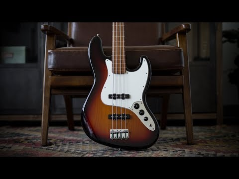 Fender Player Series Jazz Bass Fretless - Demo and Features