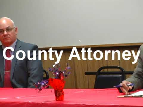 McCreary County Candidate Forum - PVA, County Attorney
