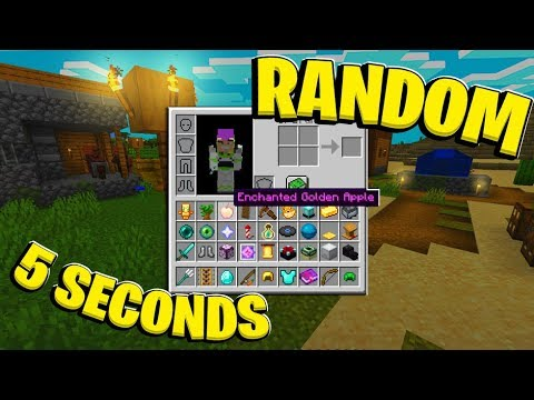 What If MINECRAFT Gave You A RANDOM Item Every 5 Seconds?  | JeromeASF