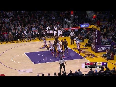 Quarter 2 One Box Video :Lakers Vs. Heat, 1/6/2017 12:00:00 AM