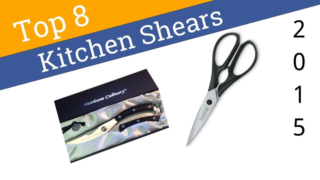 8 best kitchen shears 2015 youtube - Best Kitchen Scissors