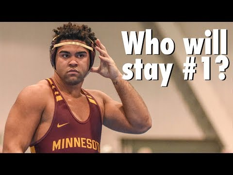 Which Ranked Wrestlers Will Stay Number 1?