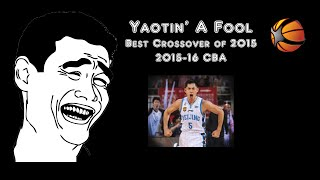 Best Crossover 2015 | CBA Top Crossover | 张庆鹏 | Yaotin' A Fool