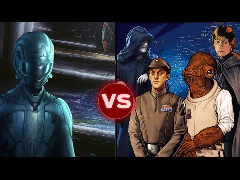 Could the Forerunner Defeat a Unified Star Wars Galaxy? Halo vs Star Wars: Galactic Versus