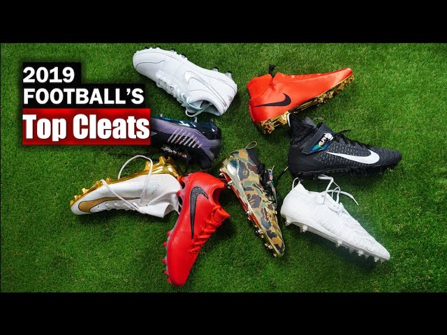 🔥 Top 5 Football CLEATS 2019-2020 - YouTube