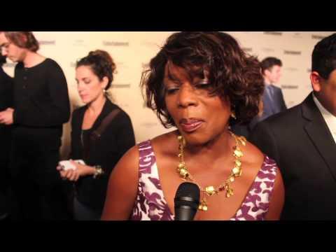 Alfre Woodard Talks Diversity at  Pre Awards EMMY'S Party