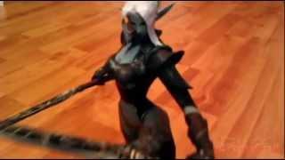 L2PaperCraft - Dark Elf Blade Dancer PaperCraft