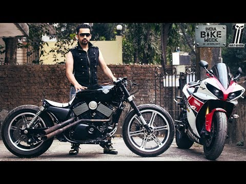 I MODIFIED HARLEY DAVIDSON STREET 750 into MY DREAM CAFE RACER | IBW 2017