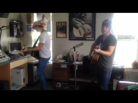 Luke Cunningham in the Sound Studios