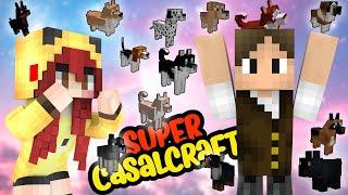 ADOTAMOS VÁRIOS CACHORRINHOS ♥_♥ | Super CasalCraft #19