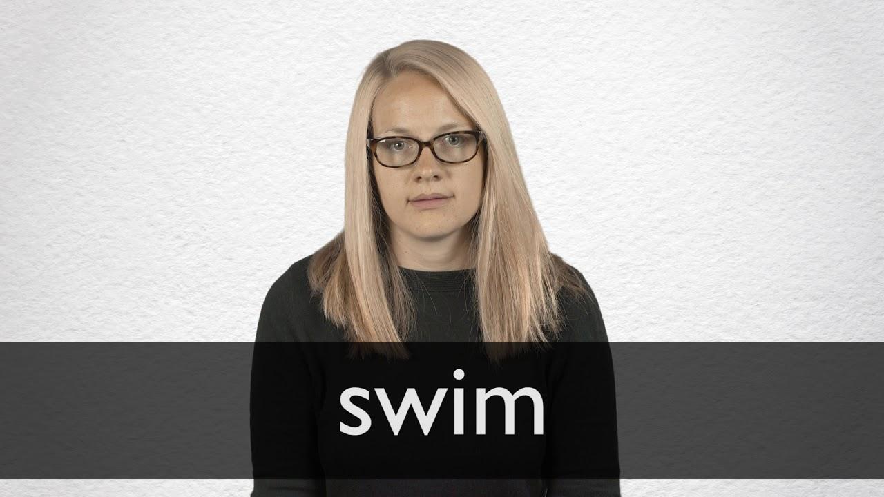 How to pronounce SWIM in British English