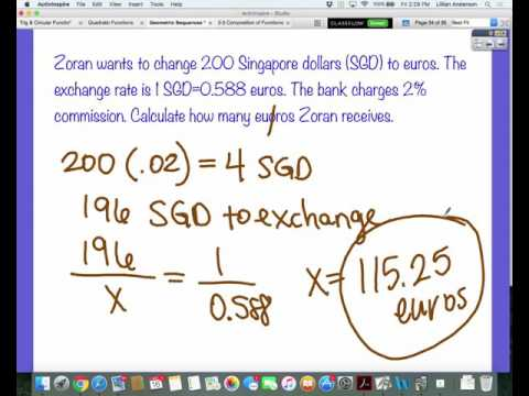 Currency Conversion Examples