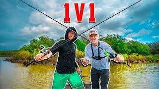 1v1 Fishing Tournament Of Champions - Lunkerstv VS Lakeforkguy