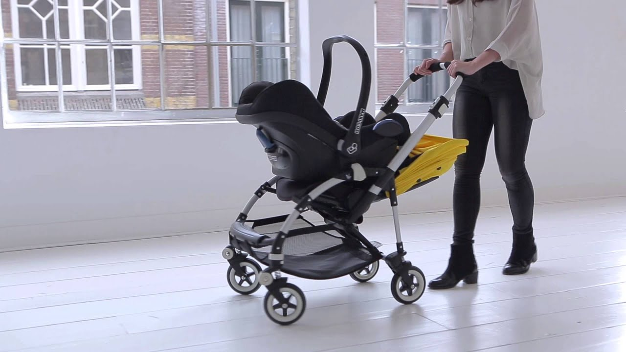 bugaboo bee³ demo - car seat adaptability - YouTube