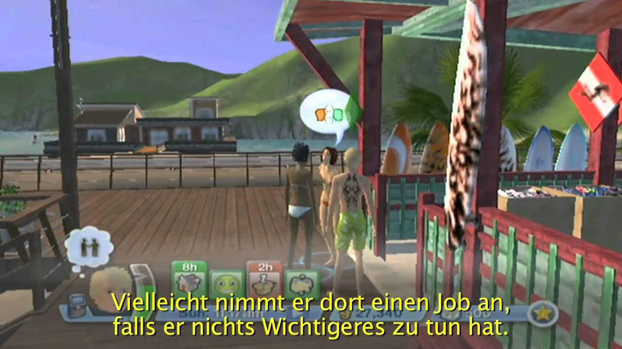 die sims 3 wii trailer deutsch englisch youtube. Black Bedroom Furniture Sets. Home Design Ideas